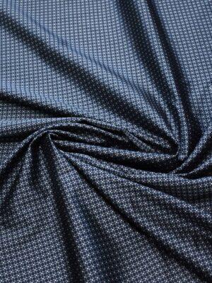Жаккард шелк в мелкий геометрический узор (7907) - Фото 19