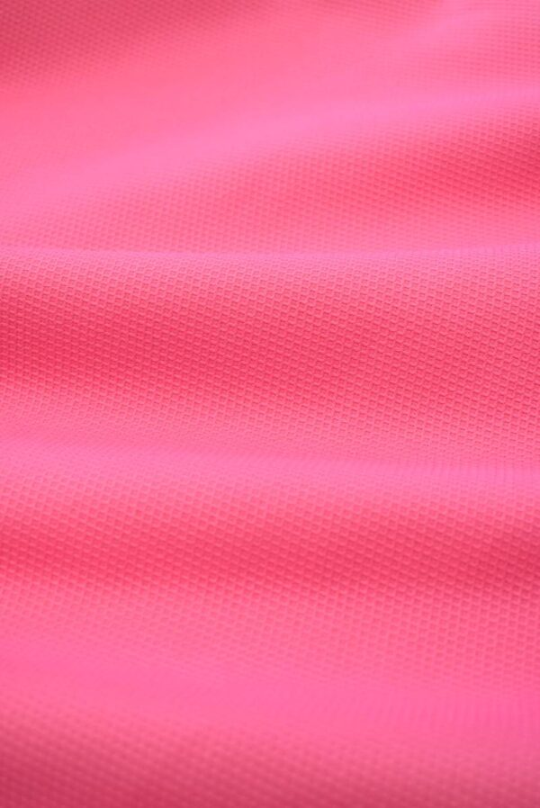 Пике стрейч ярко-розовый (7994) - Фото 6
