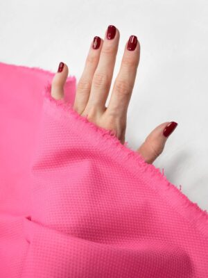 Пике стрейч ярко-розовый (7994) - Фото 12