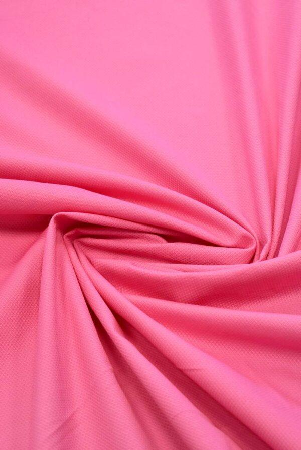 Пике стрейч ярко-розовый (7994) - Фото 8
