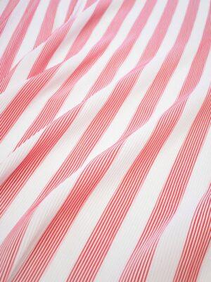 Плиссе белое в красную полоску (8094) - Фото 15