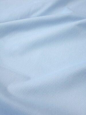Пике стрейч пастельно-голубого оттенка (8105) - Фото 12