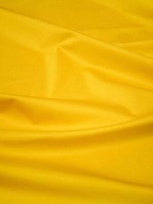 Сатин стрейч золотисто-желтого оттенка (8365) - Фото 17