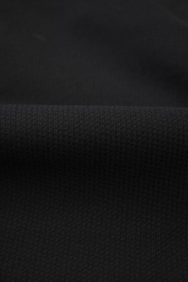 Пике стрейч черный (8436) - Фото 10