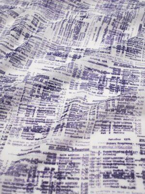 Батист оттиски чеков на белом фоне (8573) - Фото 17