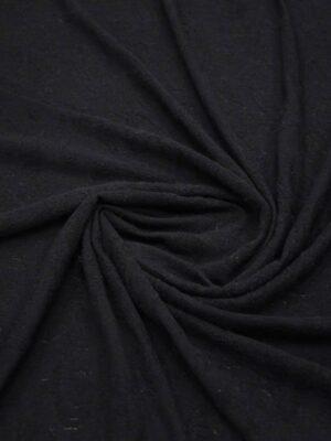 Трикотаж черный с жаккардовым узором (8604) - Фото 14