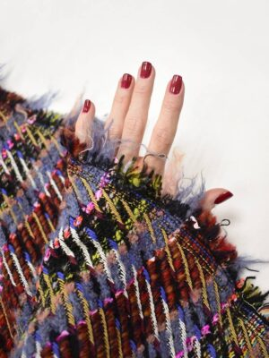 Шанель в разноцветную клетку (8619) - Фото 12