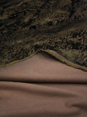 Мех каракуль темно-коричневый (8628) - Фото 18