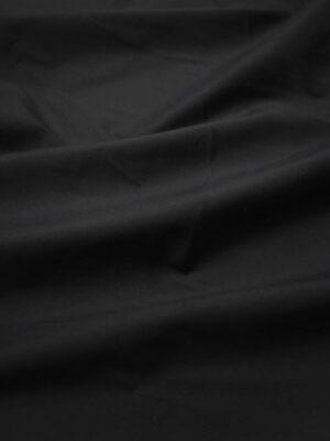 Хлопок стрейч рубашечный черный (8723) - Фото 16