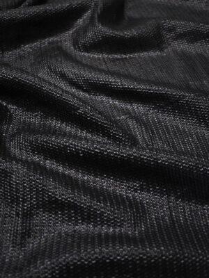 Пайетки черные на трикотажной основе (8798) - Фото 16