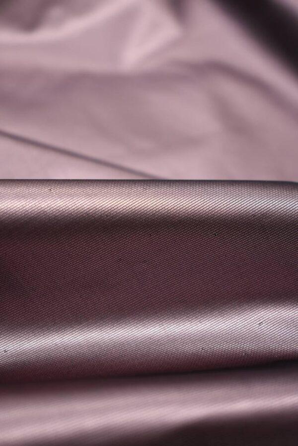 Тафта пыльная роза с блеском (8907) - Фото 9