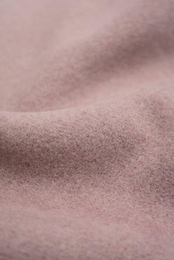 Пальтовая шерсть оттенок пыльная роза (8979) - Фото 10