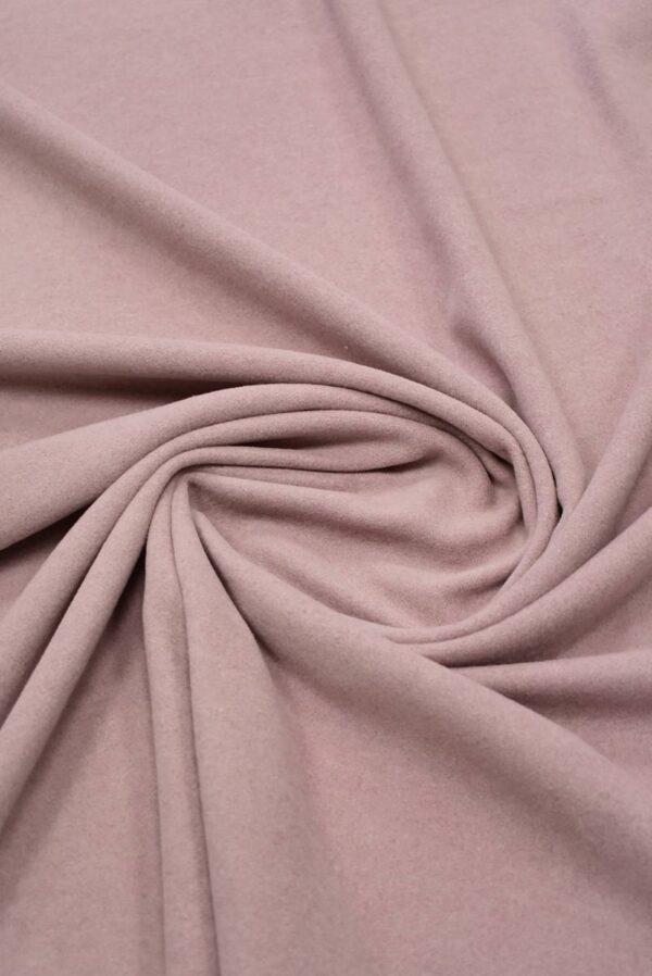 Пальтовая шерсть оттенок пыльная роза (8979) - Фото 8