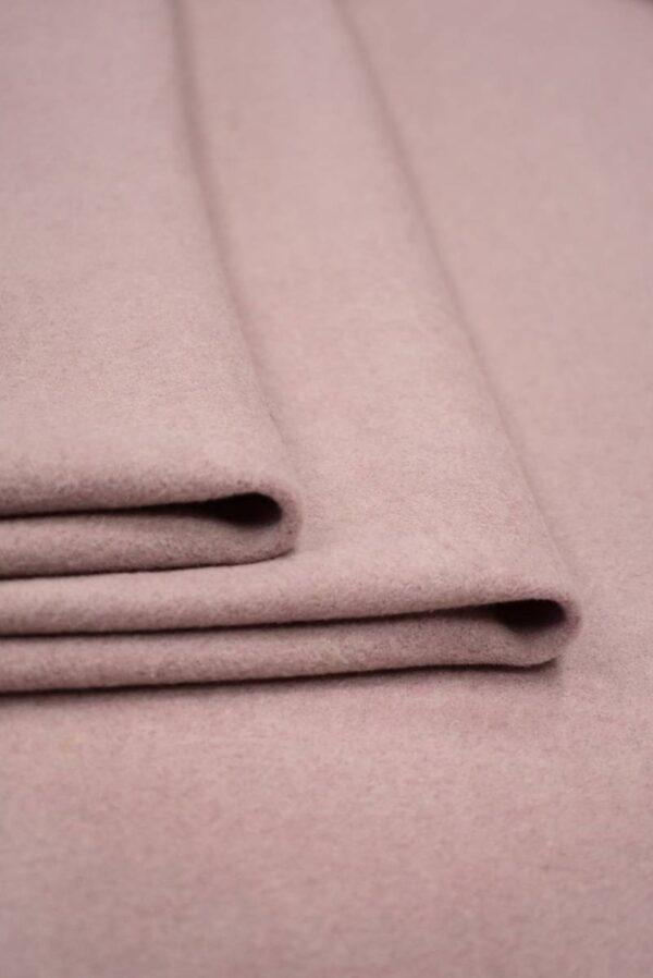 Пальтовая шерсть оттенок пыльная роза (8979) - Фото 9