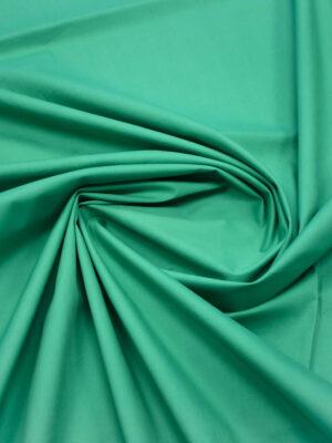 Сатин стрейч зеленый (0174) - Фото 12