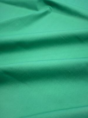 Сатин стрейч зеленый (0174) - Фото 11
