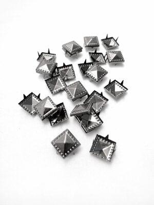 Заклепки с зубчиками металл темное серебро (t0380) К-броши и декоры2 - Фото 10