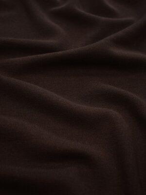 Джерси шерсть коричневый с бахромой (0478) - Фото 12