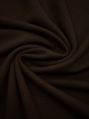 Джерси шерсть коричневый с бахромой (0478) - Фото 13