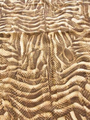 Батист змеиный принт песочно-шоколадный (0536) - Фото 14