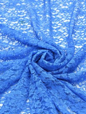 Кружево сутажное голубое с цветами (0830) - Фото 13