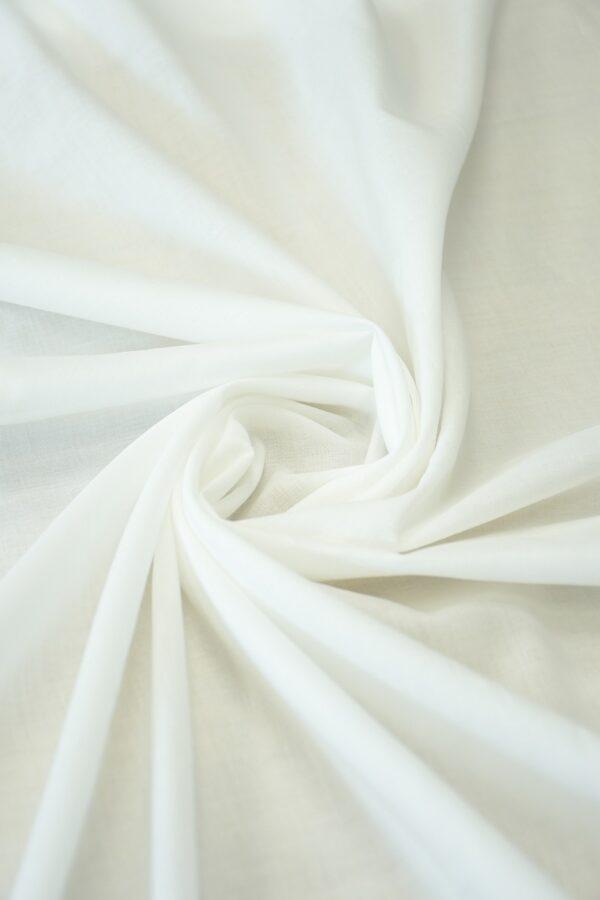 Батист хлопок белый (10558) - Фото 7