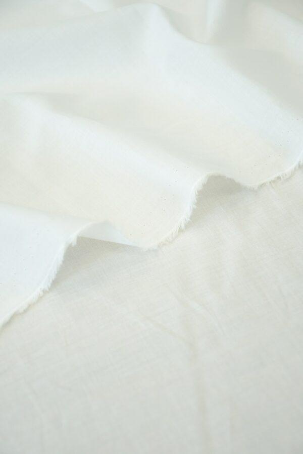 Батист хлопок белый (10558) - Фото 8