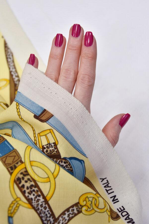 Шерсть золотые цепи кожаные ремешки (1512) - Фото 11