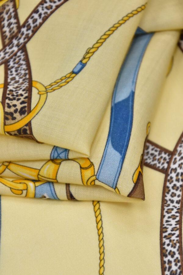Шерсть золотые цепи кожаные ремешки (1512) - Фото 10