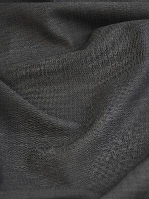 Костюмная холодная шерсть графит в мелкий зигзаг (1522) - Фото 12