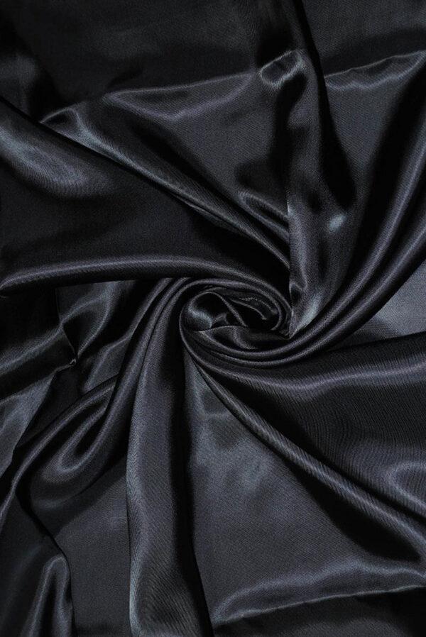 Подкладочная вискоза темно-синий (1666) - Фото 6