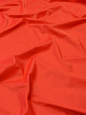 Атлас стрейч красно-коралловый (1844) - Фото 13