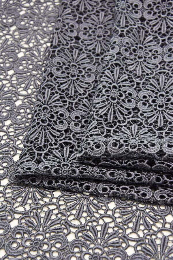 Кружево макраме серое орнамент (1896) - Фото 8