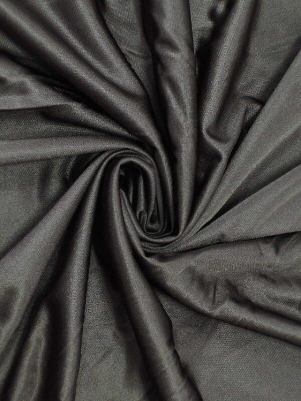 Подклад трикотажный плотный гладкий графит (1989) - Фото 6