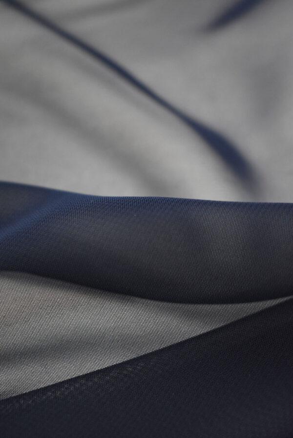 Шифон черничного оттенка (2035) - Фото 9