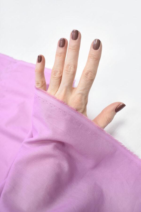Хлопок розовый рубашечный (2094) - Фото 10