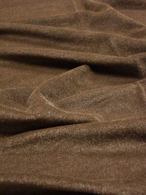 Пальтовая шерсть мохер коричневая (2487) - Фото 14