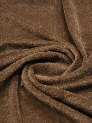 Пальтовая шерсть мохер коричневая (2487) - Фото 15
