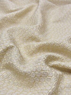 Жаккард ромб бежево-ванильный оттенок (2504) - Фото 13