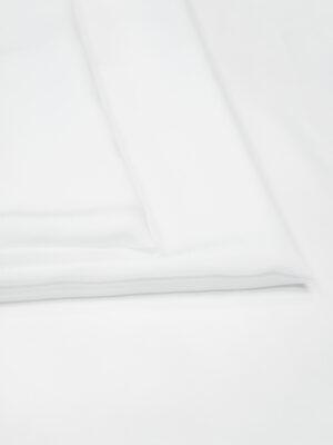 Креп плательный белый (2627) - Фото 12