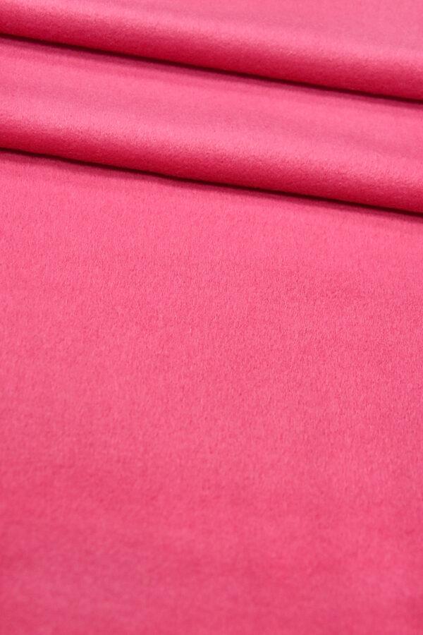Пальтовая шерсть кашемир ярко-розовый (3240) - Фото 8