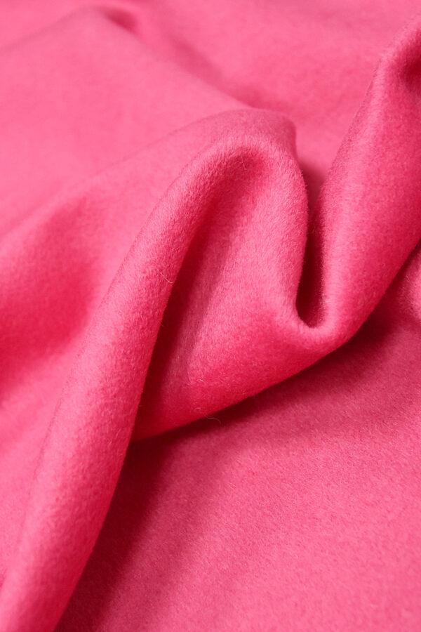 Пальтовая шерсть кашемир ярко-розовый (3240) - Фото 7