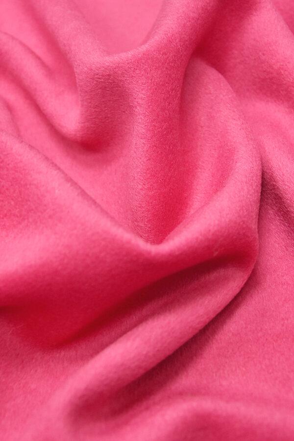 Пальтовая шерсть кашемир ярко-розовый (3240) - Фото 6