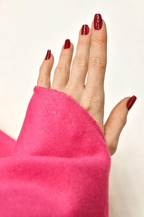 Пальтовая шерсть кашемир ярко-розовый (3240) - Фото 9