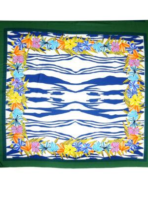 Шелк купон платочный принт зебра цветы (3294) - Фото 28