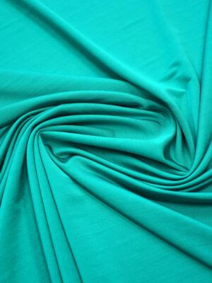 Трикотаж яркий бирюзовый (3590) - Фото 16