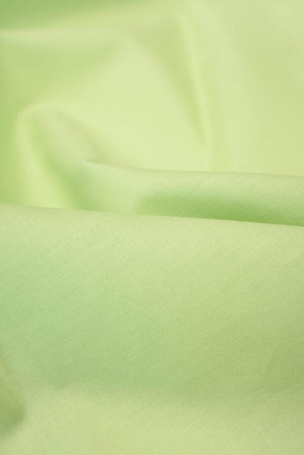 Хлопок рубашечный светлый салатовый оттенок (3601) - Фото 9