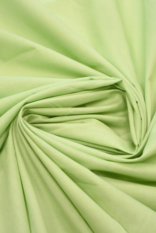 Хлопок рубашечный светлый салатовый оттенок (3601) - Фото 8