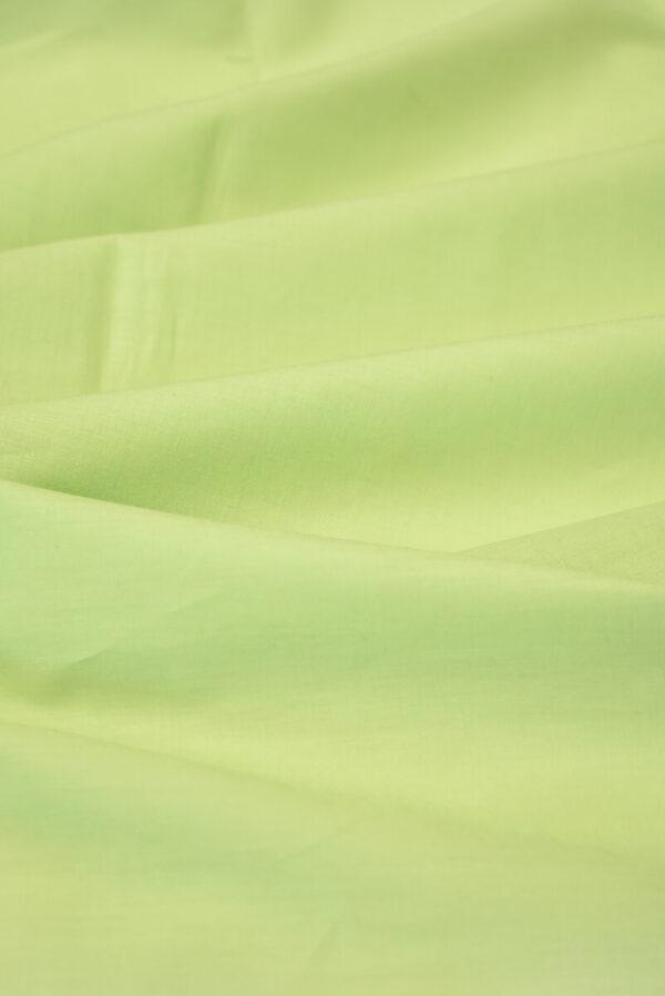 Хлопок рубашечный светлый салатовый оттенок (3601) - Фото 6