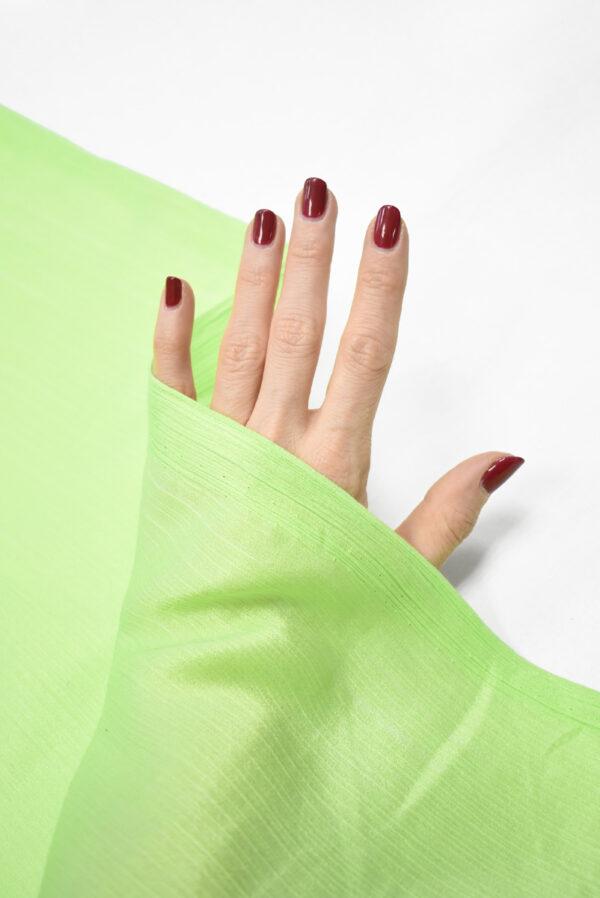 Крепон хлопок яркий салатовый (3611) - Фото 10